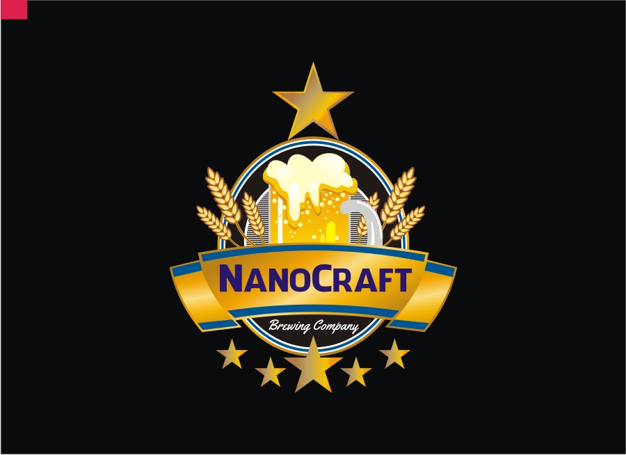 Logo Design by Private User - Entry No. 51 in the Logo Design Contest Unique Logo Design Wanted for NanoCraft Brewing Company.