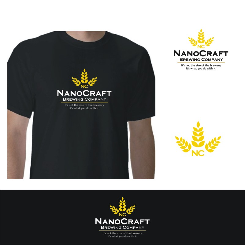 Logo Design by Private User - Entry No. 72 in the Logo Design Contest Unique Logo Design Wanted for NanoCraft Brewing Company.