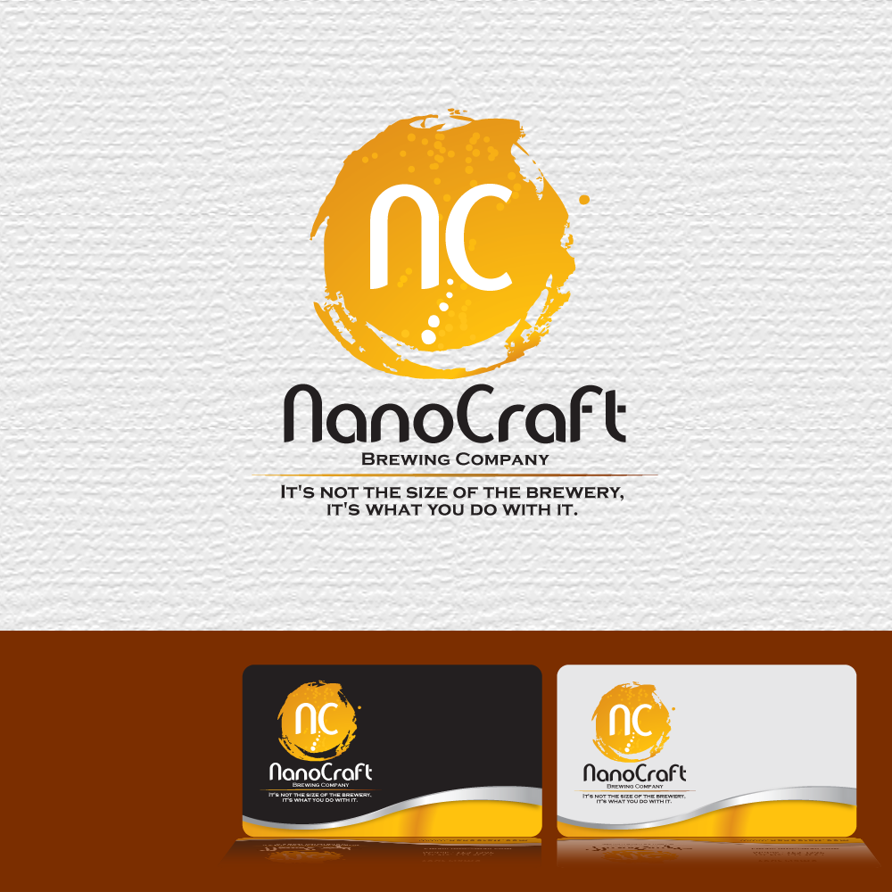 Logo Design by storm - Entry No. 62 in the Logo Design Contest Unique Logo Design Wanted for NanoCraft Brewing Company.