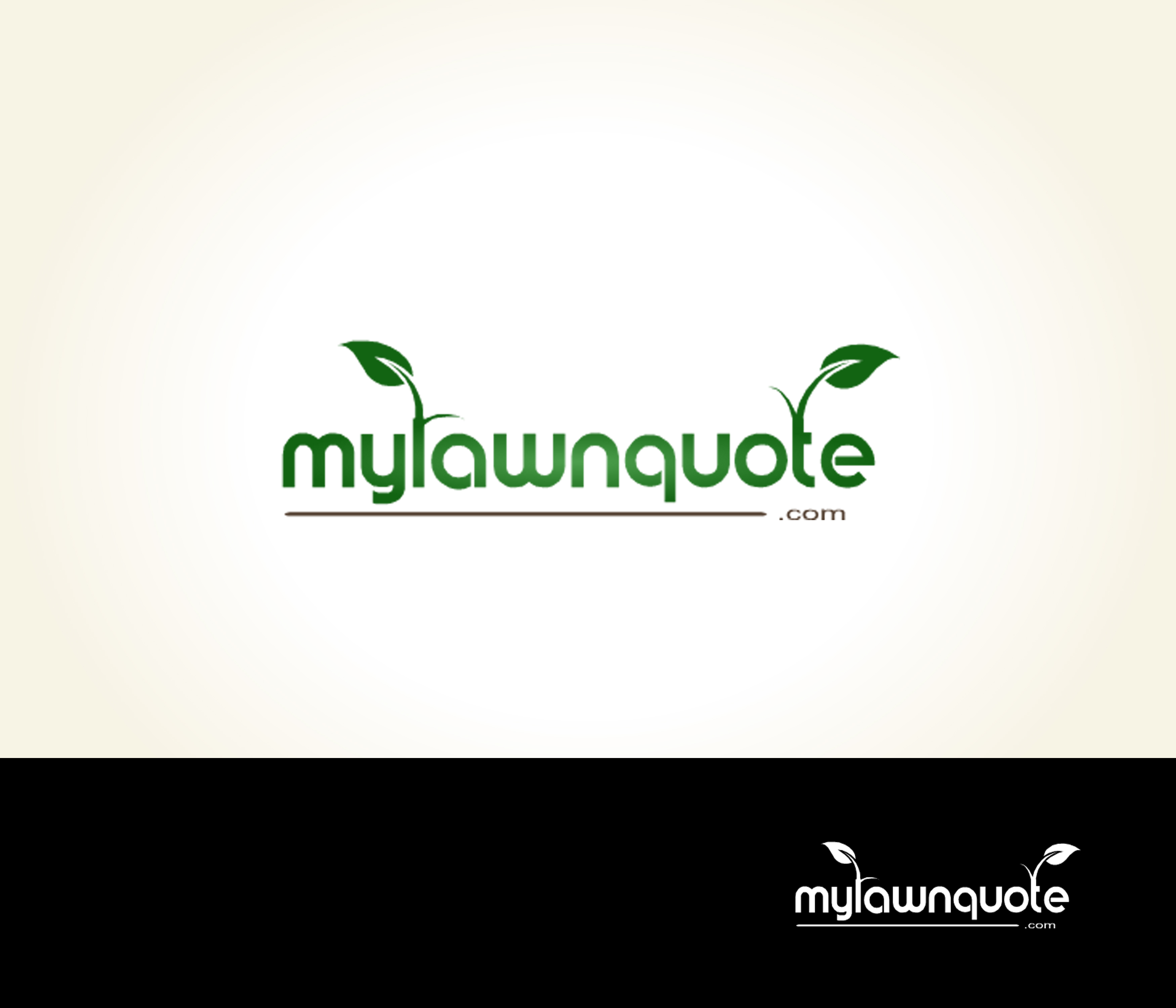 Logo Design by Lara Puno - Entry No. 5 in the Logo Design Contest Logo Design Needed for Exciting New Company mylawnquote.com.