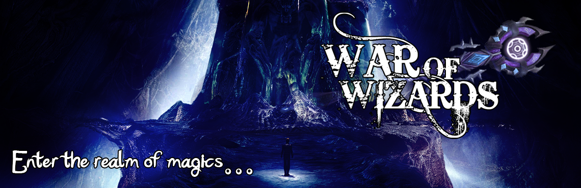 Banner Ad Design by JanMark Bedonia - Entry No. 26 in the Banner Ad Design Contest Banner Ad Design - War of Wizards (fantasy game).