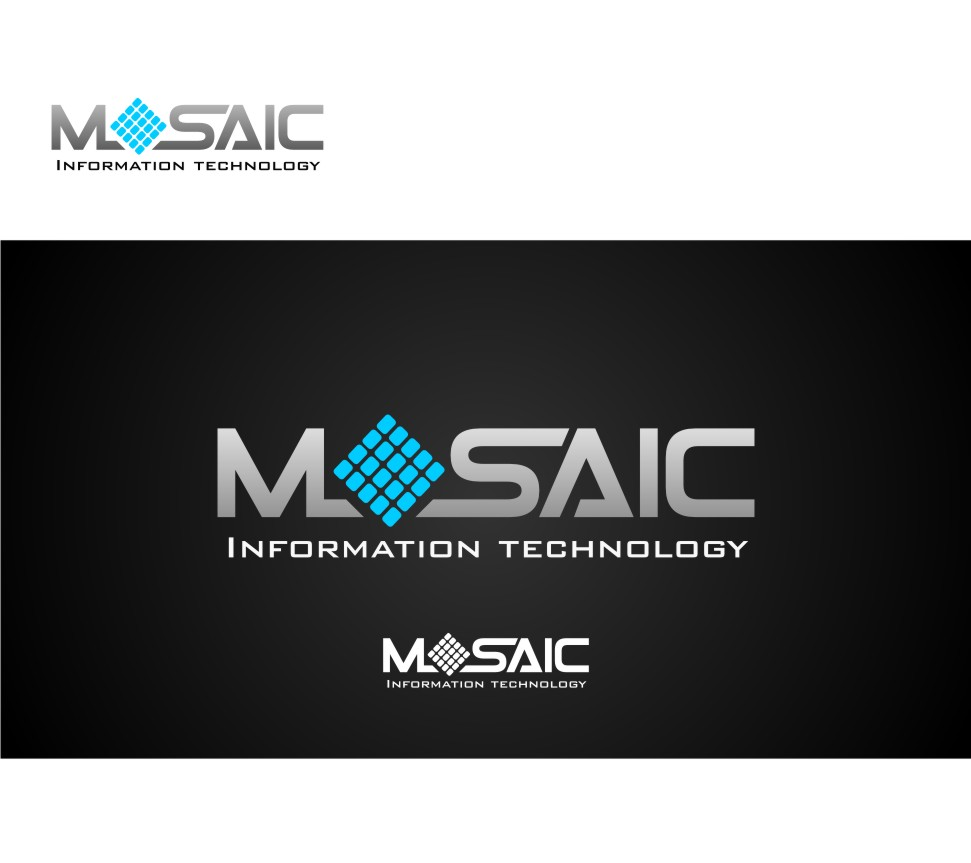 Logo Design by graphicleaf - Entry No. 33 in the Logo Design Contest Mosaic Information Technology Logo Design.