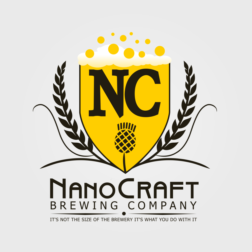 Logo Design by Private User - Entry No. 65 in the Logo Design Contest Unique Logo Design Wanted for NanoCraft Brewing Company.