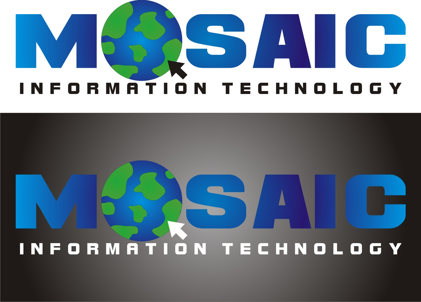 Logo Design by kambal - Entry No. 64 in the Logo Design Contest Mosaic Information Technology Logo Design.