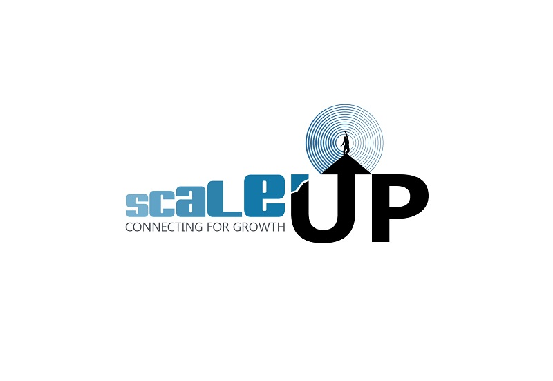 Logo Design by kowreck - Entry No. 1 in the Logo Design Contest Logo Design for scaleUp a consulting & event management company.