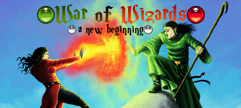 Banner Ad Design by Nadj Abo - Entry No. 52 in the Banner Ad Design Contest Banner Ad Design - War of Wizards (fantasy game).