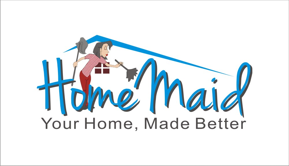 Logo Design by Shailender Kumar - Entry No. 73 in the Logo Design Contest Unique Logo Design Wanted for HomeMaid.