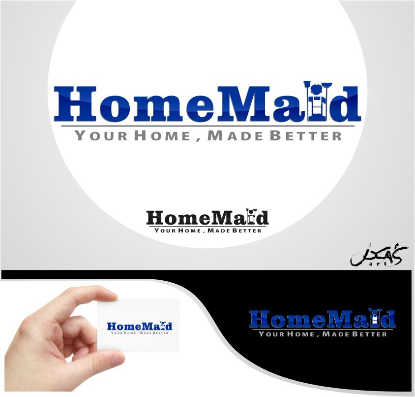 Logo Design by joca - Entry No. 75 in the Logo Design Contest Unique Logo Design Wanted for HomeMaid.