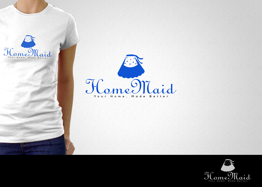 Logo Design by WilldesignPro - Entry No. 76 in the Logo Design Contest Unique Logo Design Wanted for HomeMaid.