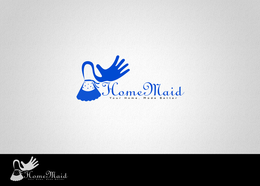 Logo Design by WilldesignPro - Entry No. 77 in the Logo Design Contest Unique Logo Design Wanted for HomeMaid.