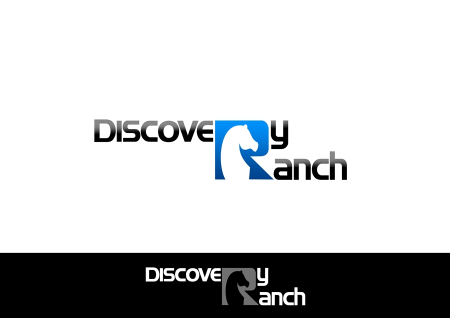 Logo Design by Respati Himawan - Entry No. 2 in the Logo Design Contest Creative Logo Design for Discovery Ranch.