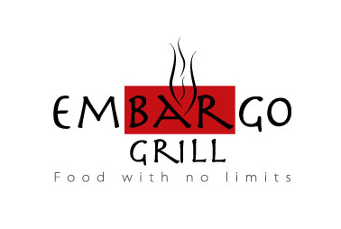 Logo Design by mediaproductionart - Entry No. 31 in the Logo Design Contest Captivating Logo Design for Embargo Grill.