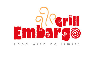 Logo Design by mediaproductionart - Entry No. 32 in the Logo Design Contest Captivating Logo Design for Embargo Grill.
