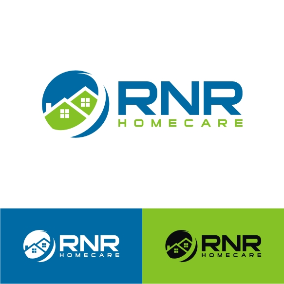 Logo Design by Private User - Entry No. 80 in the Logo Design Contest Imaginative Logo Design for RNR HomeCare.