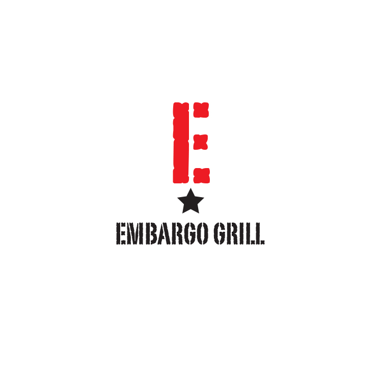 Logo Design by storm - Entry No. 34 in the Logo Design Contest Captivating Logo Design for Embargo Grill.