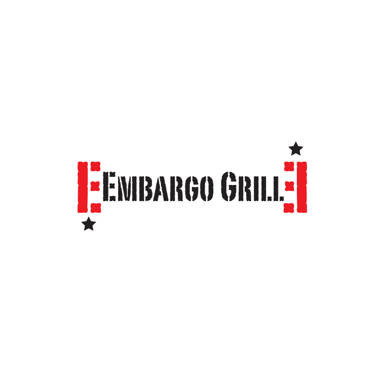 Logo Design by storm - Entry No. 35 in the Logo Design Contest Captivating Logo Design for Embargo Grill.