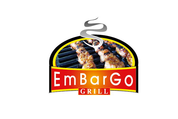 Logo Design by Private User - Entry No. 37 in the Logo Design Contest Captivating Logo Design for Embargo Grill.