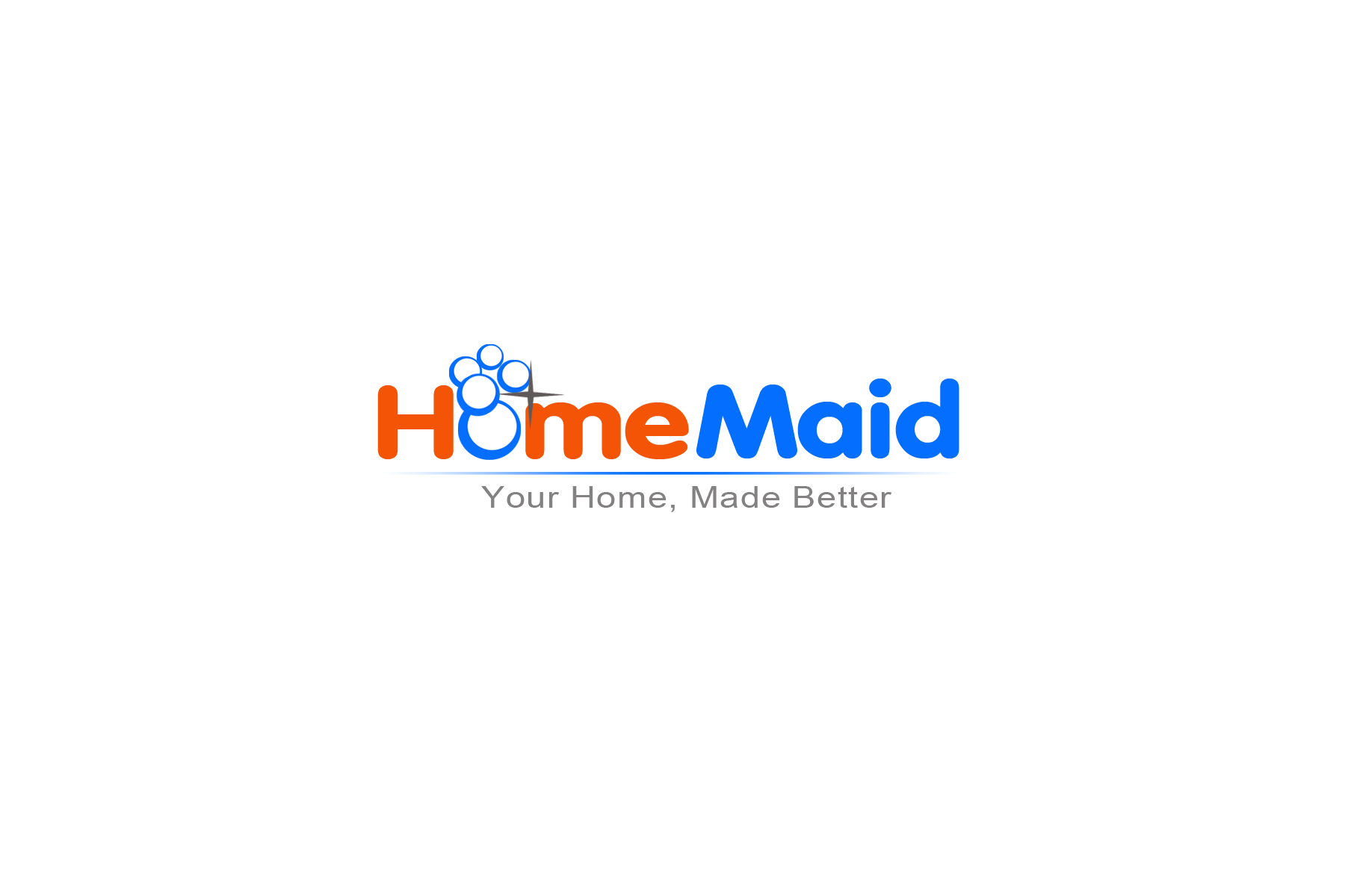 Logo Design by Golden_Hand - Entry No. 84 in the Logo Design Contest Unique Logo Design Wanted for HomeMaid.