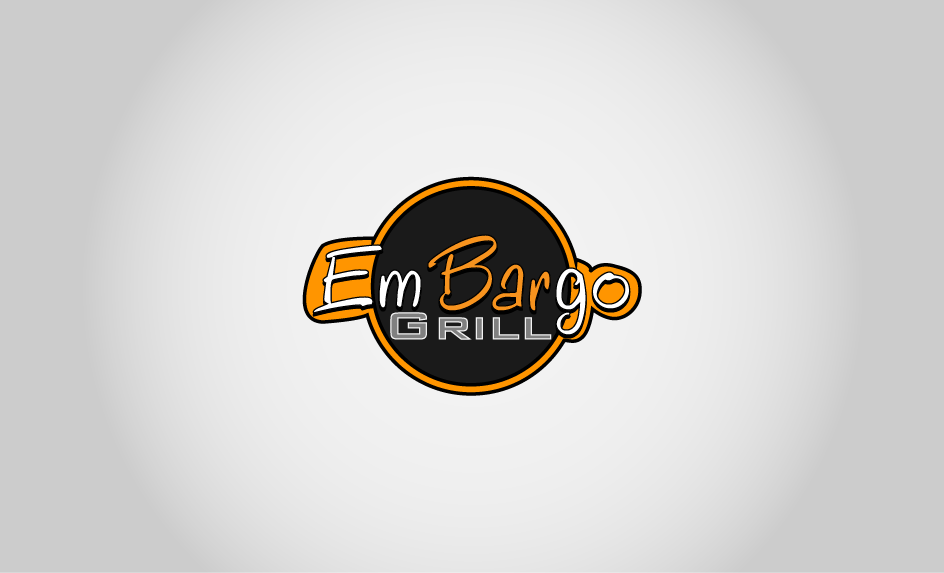 Logo Design by Private User - Entry No. 38 in the Logo Design Contest Captivating Logo Design for Embargo Grill.