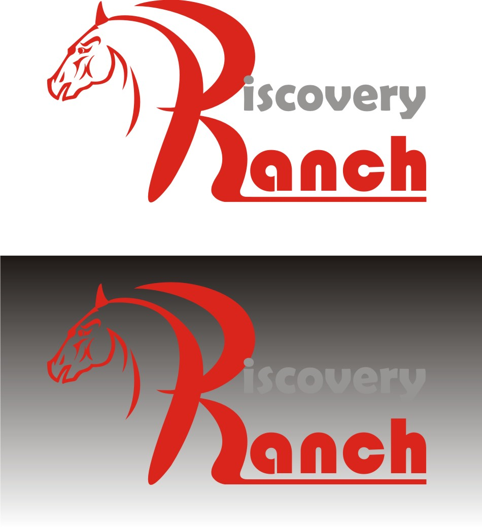 Logo Design by Korsunov Oleg - Entry No. 4 in the Logo Design Contest Creative Logo Design for Discovery Ranch.