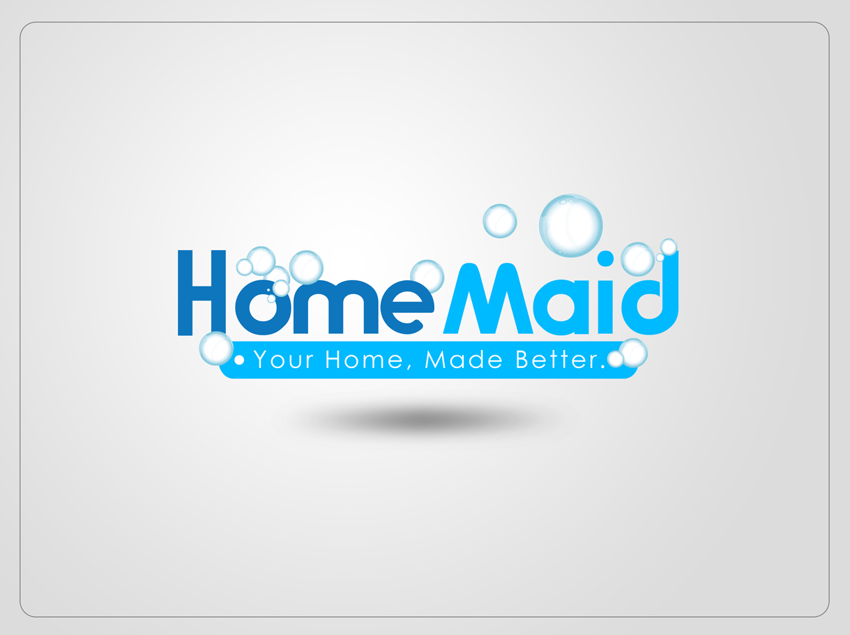 Logo Design by Mark Anthony Moreto Jordan - Entry No. 86 in the Logo Design Contest Unique Logo Design Wanted for HomeMaid.
