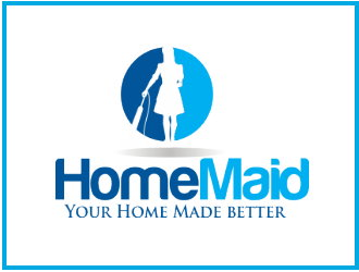Logo Design by Clifton Gage - Entry No. 87 in the Logo Design Contest Unique Logo Design Wanted for HomeMaid.
