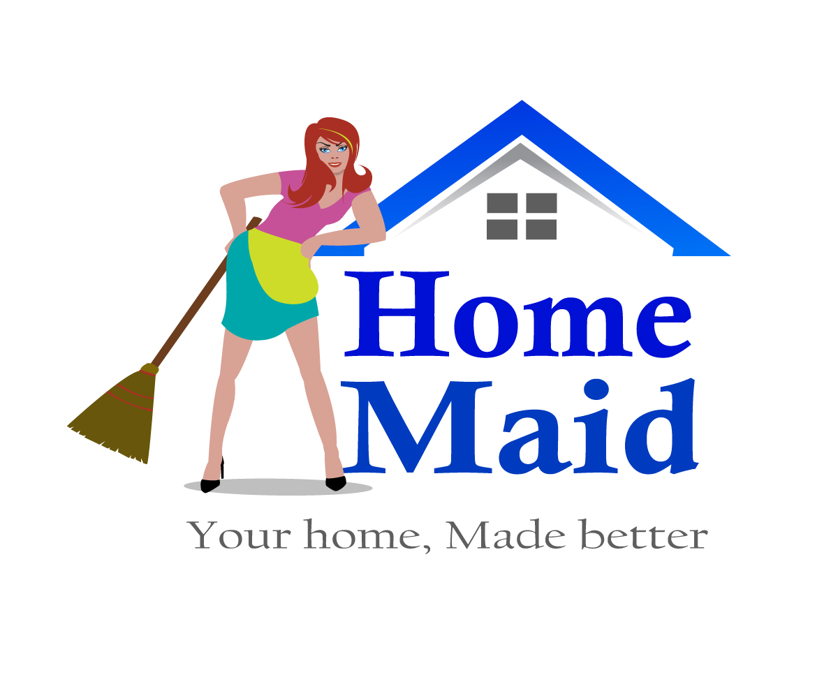 Logo Design by Amianan - Entry No. 88 in the Logo Design Contest Unique Logo Design Wanted for HomeMaid.