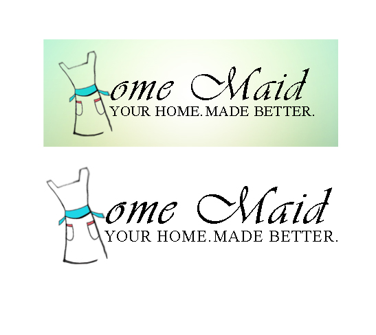 Logo Design by Aries Monta - Entry No. 89 in the Logo Design Contest Unique Logo Design Wanted for HomeMaid.