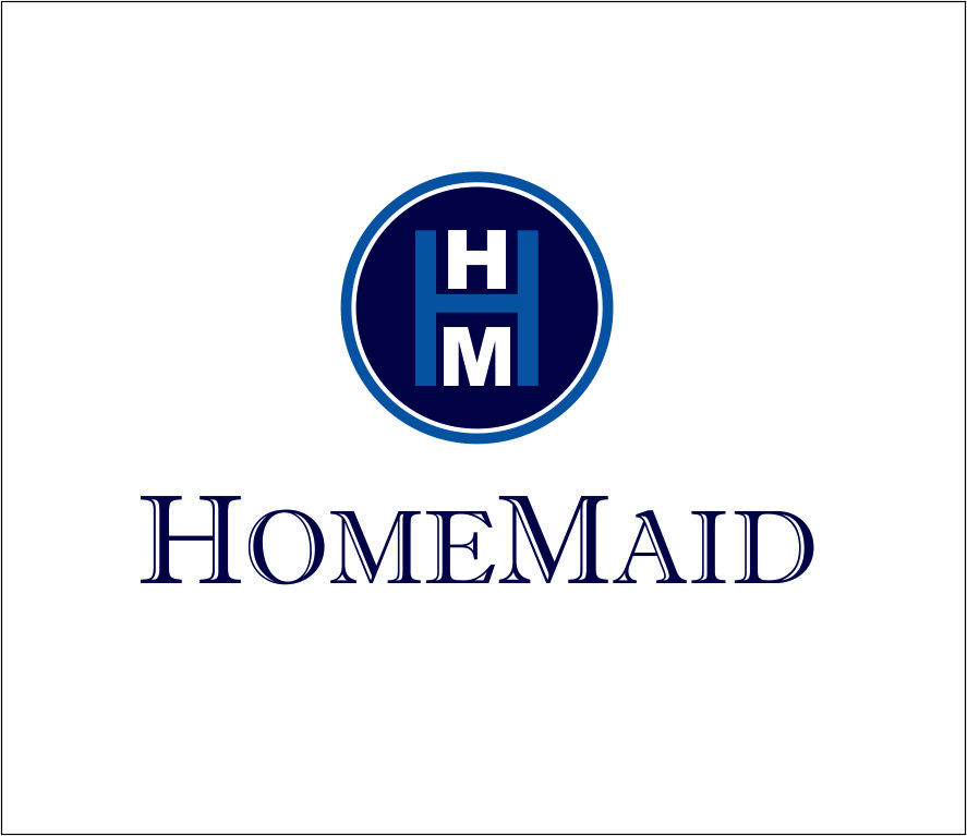 Logo Design by Agus Martoyo - Entry No. 91 in the Logo Design Contest Unique Logo Design Wanted for HomeMaid.