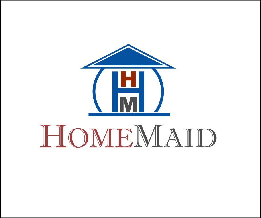Logo Design by Agus Martoyo - Entry No. 92 in the Logo Design Contest Unique Logo Design Wanted for HomeMaid.