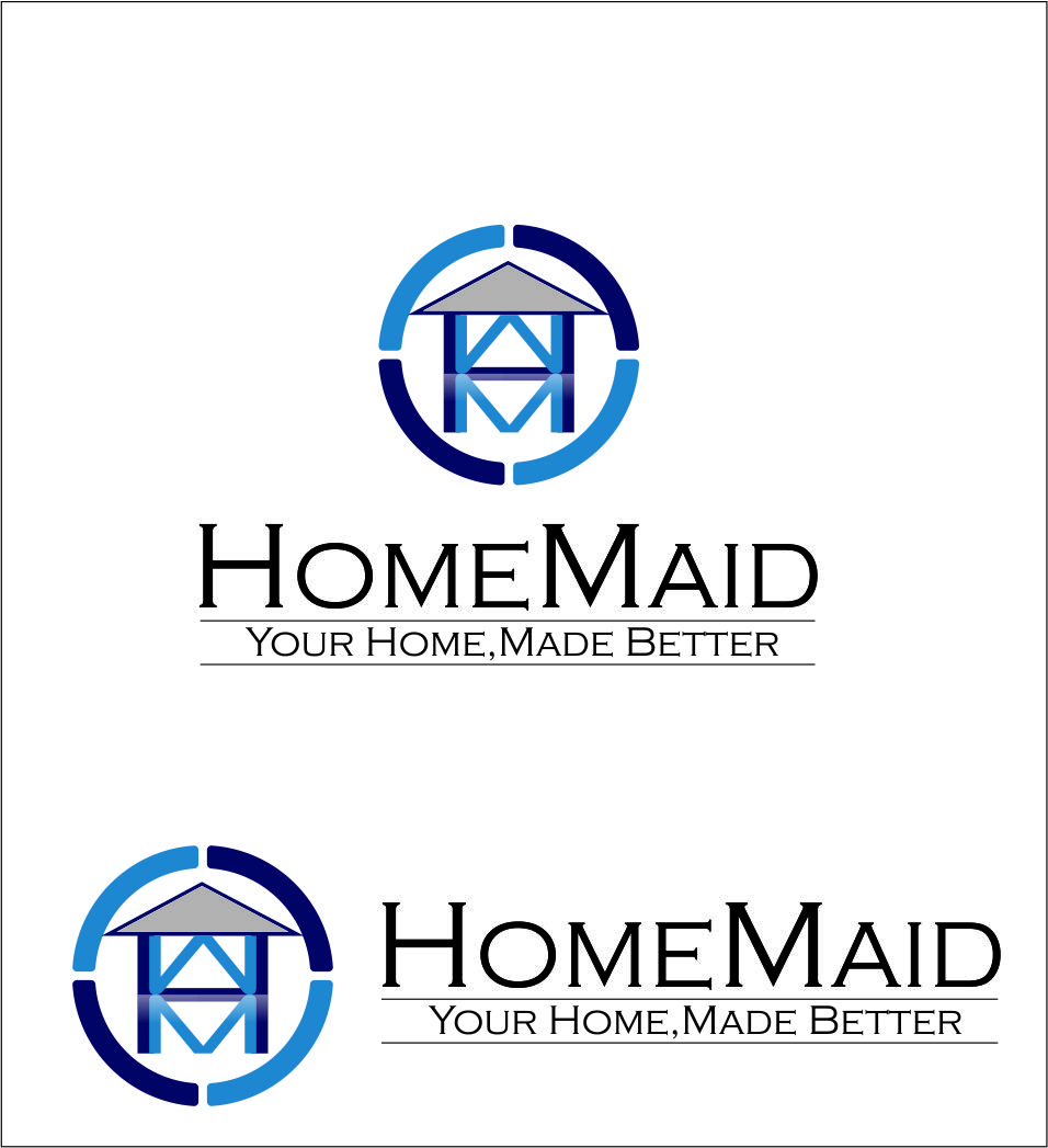 Logo Design by Agus Martoyo - Entry No. 98 in the Logo Design Contest Unique Logo Design Wanted for HomeMaid.