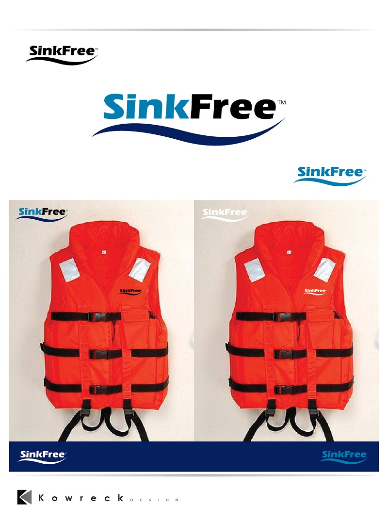 Custom Design by kowreck - Entry No. 21 in the Custom Design Contest CUSTOM DESIGN - I need a NEW brand name/logo for a new line of life jackets.  It needs to be a cool.