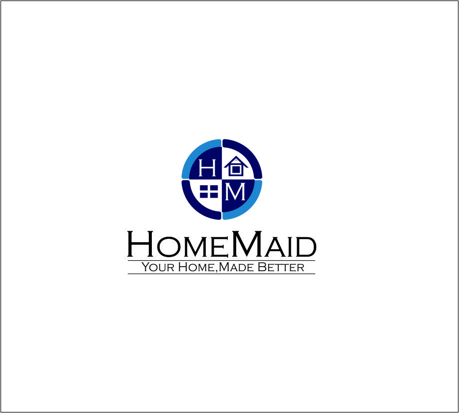 Logo Design by Agus Martoyo - Entry No. 99 in the Logo Design Contest Unique Logo Design Wanted for HomeMaid.