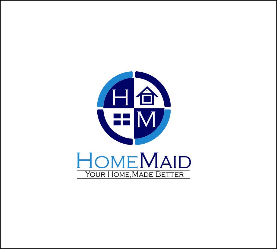 Logo Design by Agus Martoyo - Entry No. 100 in the Logo Design Contest Unique Logo Design Wanted for HomeMaid.
