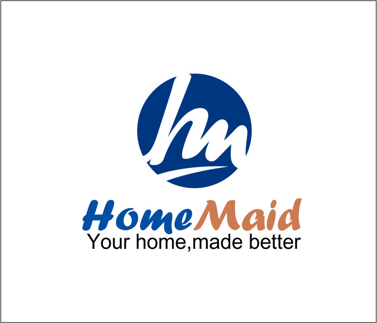 Logo Design by Agus Martoyo - Entry No. 104 in the Logo Design Contest Unique Logo Design Wanted for HomeMaid.