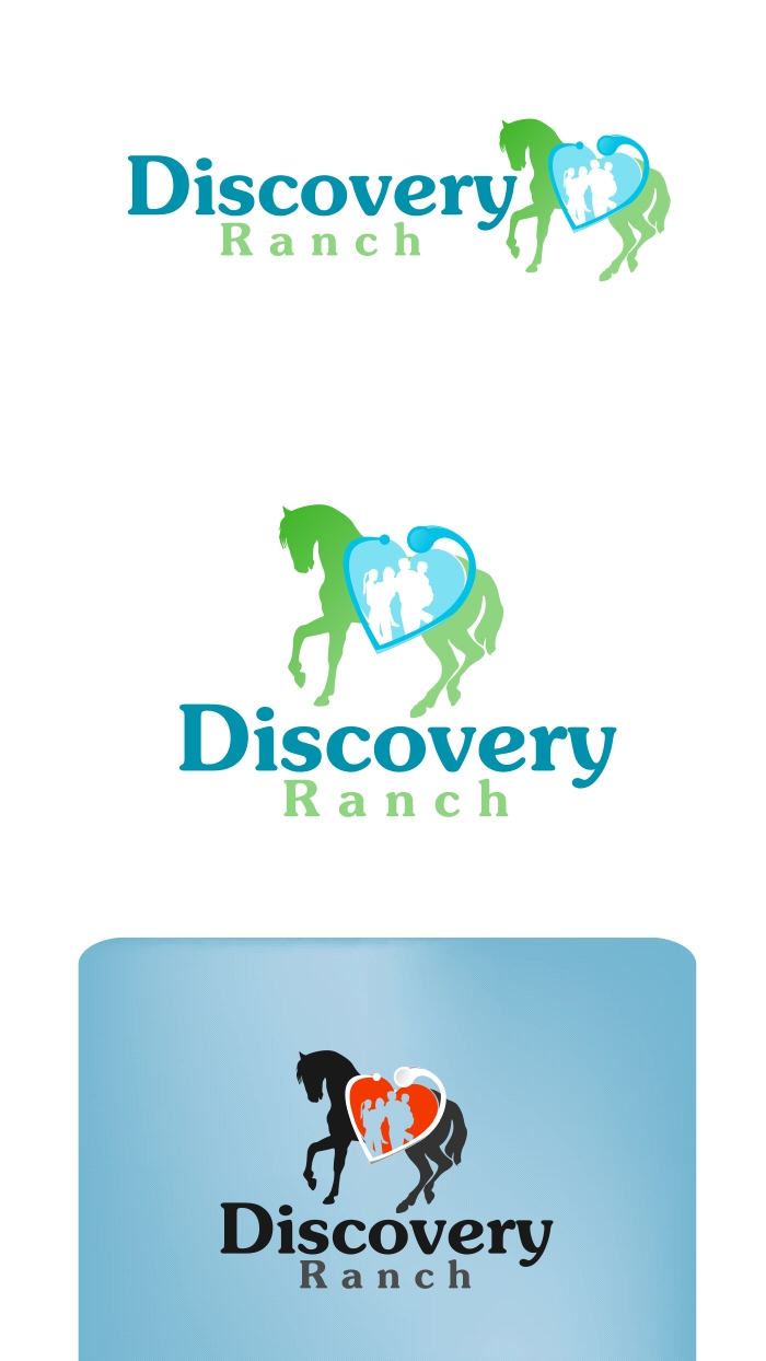 Logo Design by Private User - Entry No. 7 in the Logo Design Contest Creative Logo Design for Discovery Ranch.