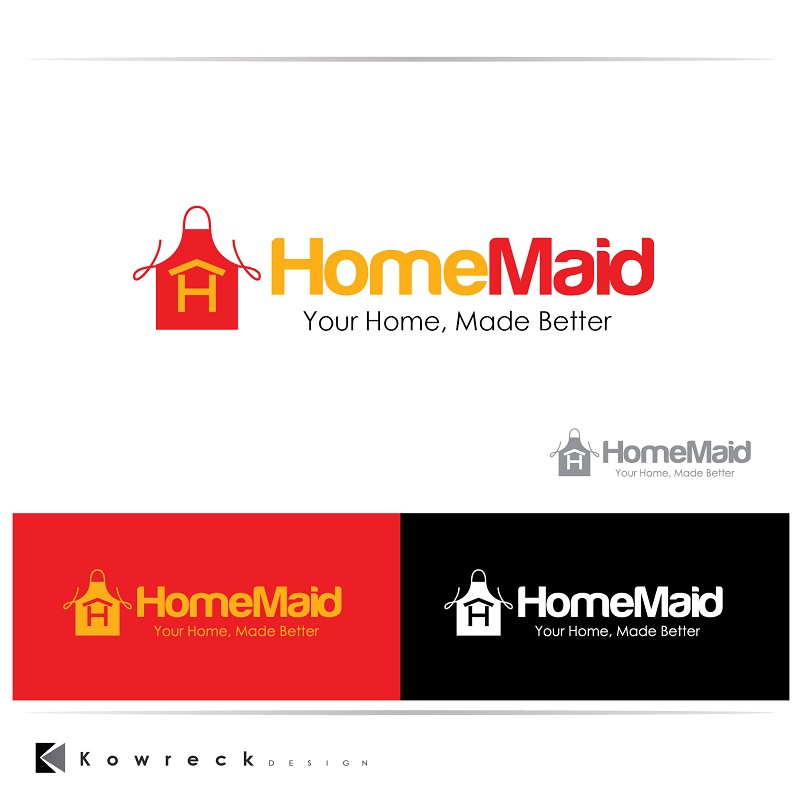 Logo Design by kowreck - Entry No. 106 in the Logo Design Contest Unique Logo Design Wanted for HomeMaid.