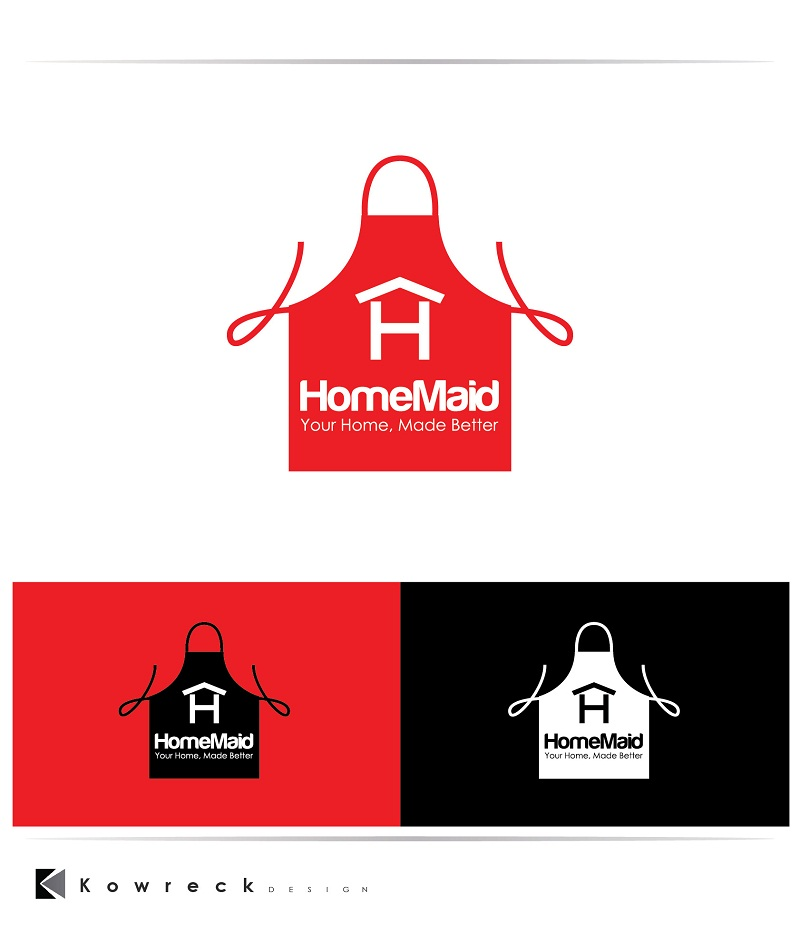 Logo Design by kowreck - Entry No. 107 in the Logo Design Contest Unique Logo Design Wanted for HomeMaid.