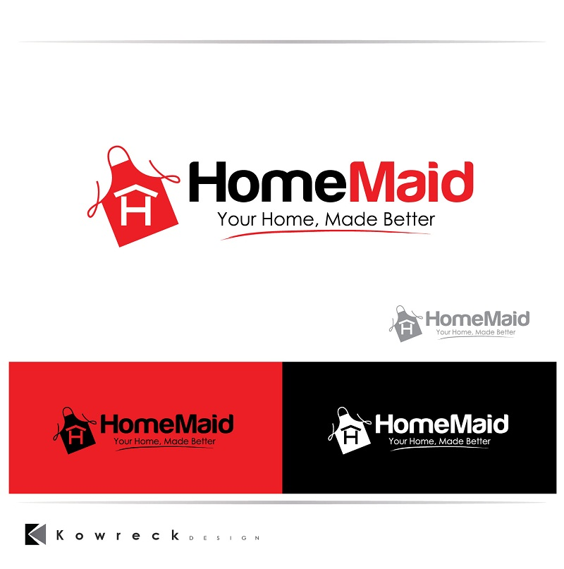 Logo Design by kowreck - Entry No. 108 in the Logo Design Contest Unique Logo Design Wanted for HomeMaid.