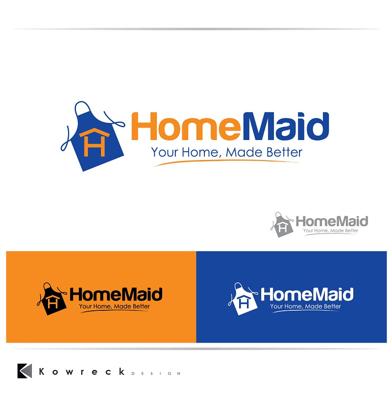 Logo Design by kowreck - Entry No. 110 in the Logo Design Contest Unique Logo Design Wanted for HomeMaid.