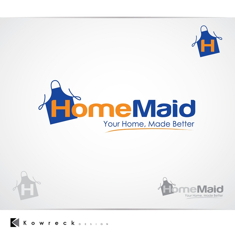 Logo Design by kowreck - Entry No. 111 in the Logo Design Contest Unique Logo Design Wanted for HomeMaid.