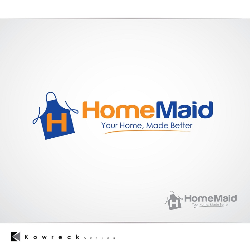 Logo Design by kowreck - Entry No. 112 in the Logo Design Contest Unique Logo Design Wanted for HomeMaid.