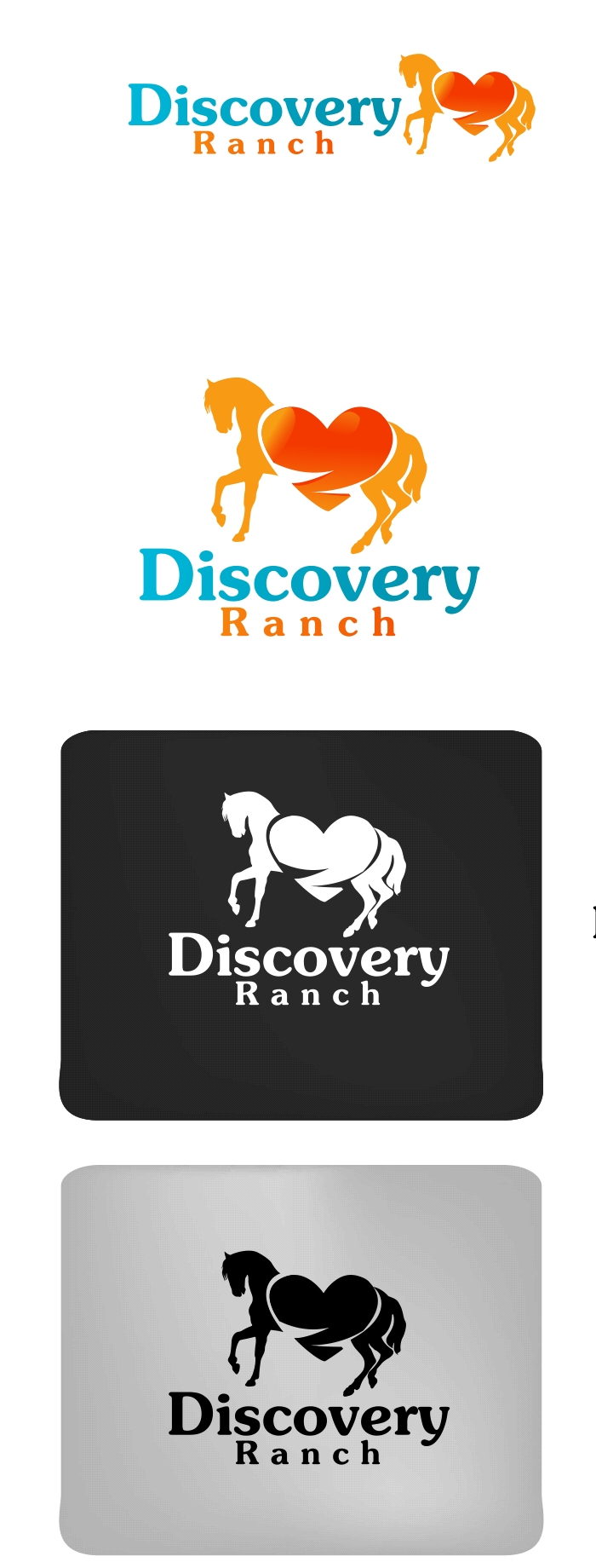 Logo Design by Private User - Entry No. 9 in the Logo Design Contest Creative Logo Design for Discovery Ranch.