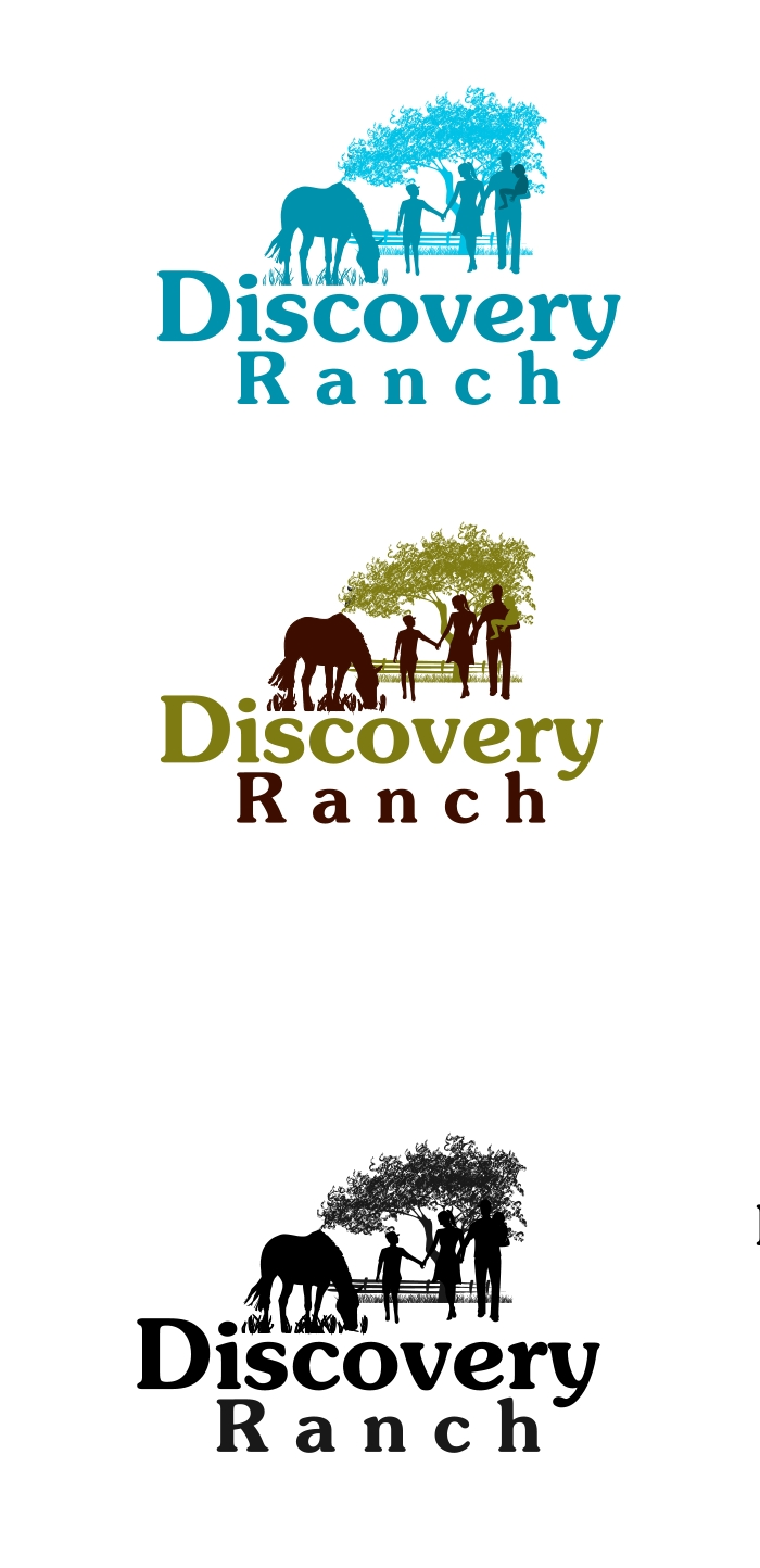 Logo Design by Private User - Entry No. 12 in the Logo Design Contest Creative Logo Design for Discovery Ranch.