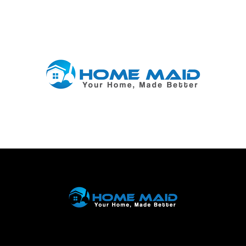 Logo Design by Shujaat Jaffri - Entry No. 116 in the Logo Design Contest Unique Logo Design Wanted for HomeMaid.