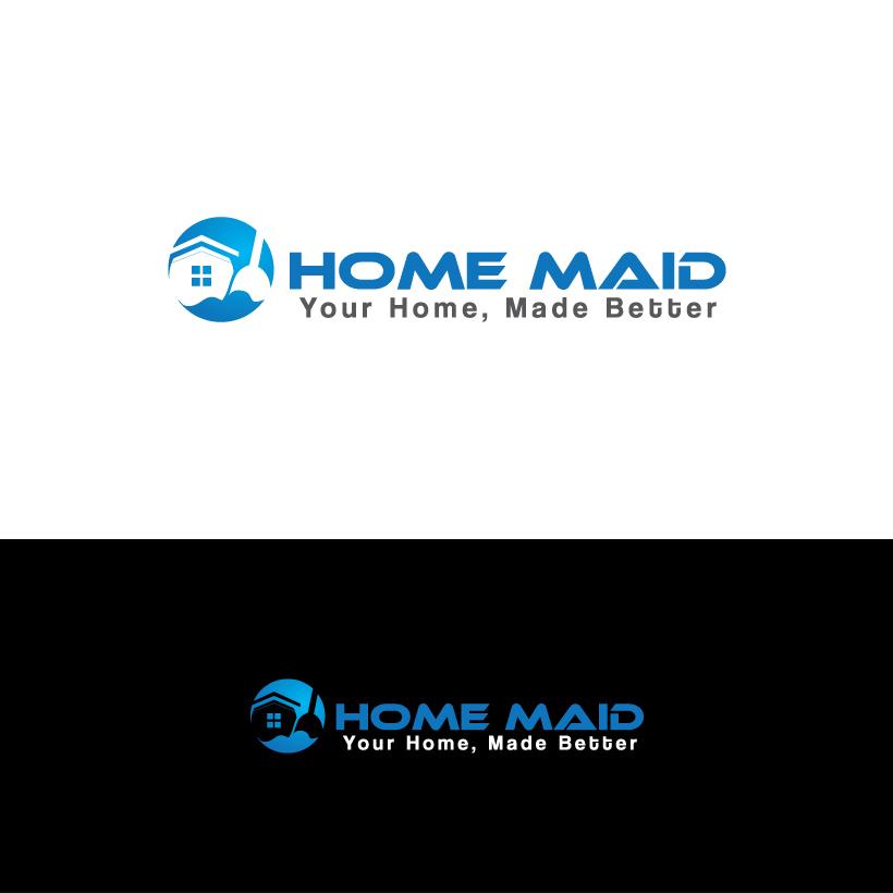 Logo Design by Shujaat Jaffri - Entry No. 116 in the Logo Design Contest Unique Logo Design Wanted for HomeMaid.