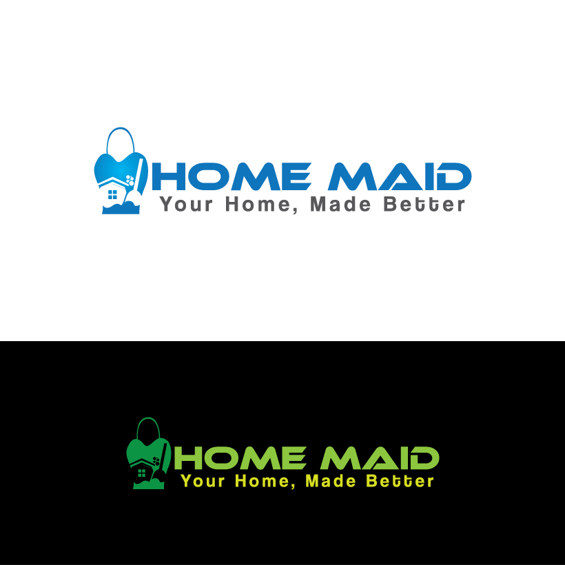 Logo Design by Shujaat Jaffri - Entry No. 117 in the Logo Design Contest Unique Logo Design Wanted for HomeMaid.