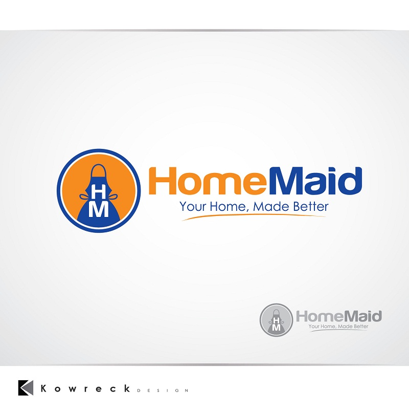 Logo Design by kowreck - Entry No. 118 in the Logo Design Contest Unique Logo Design Wanted for HomeMaid.