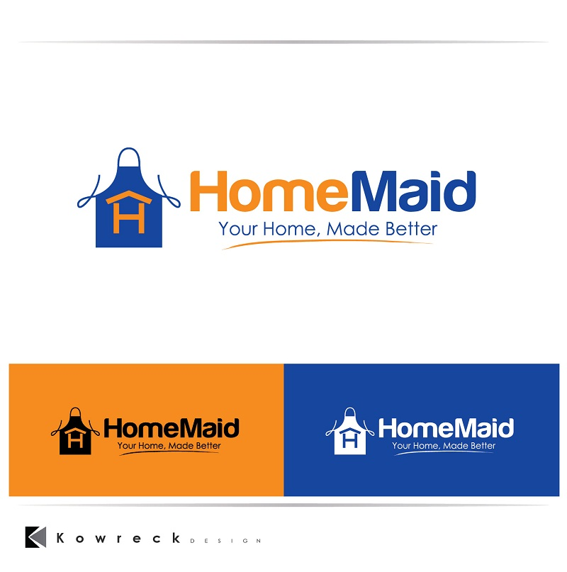 Logo Design by kowreck - Entry No. 120 in the Logo Design Contest Unique Logo Design Wanted for HomeMaid.