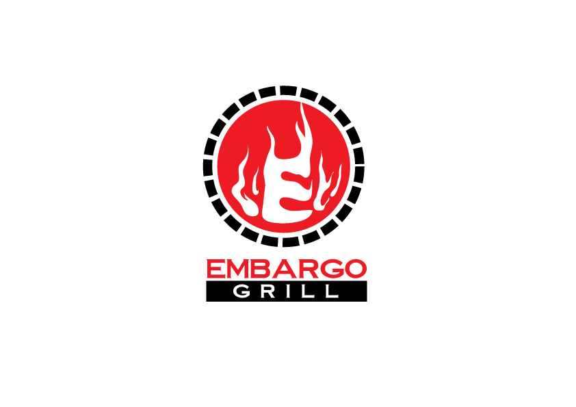 Logo Design by Severiano Fernandes - Entry No. 44 in the Logo Design Contest Captivating Logo Design for Embargo Grill.